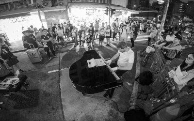 Piano across the world: Zum ersten Mal mit meinem neuen Piano in Hongkong