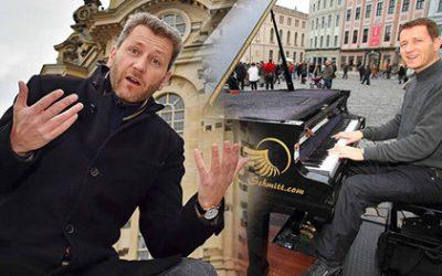 Dresden verbietet das Demonstrieren für mehr Straßenmusik-Rechte