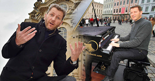 Dresden verbietet Recht zum Demonstrieren für mehr Rechte Strassenmusik