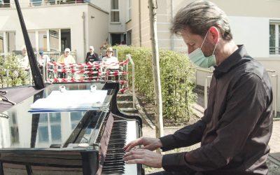 Piano-Konzert für Schutzbedürftige in Quarantäne