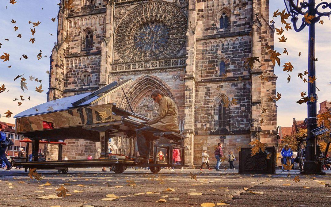 """Die """"Golden October"""" Straßen-Piano Tournee 2020"""